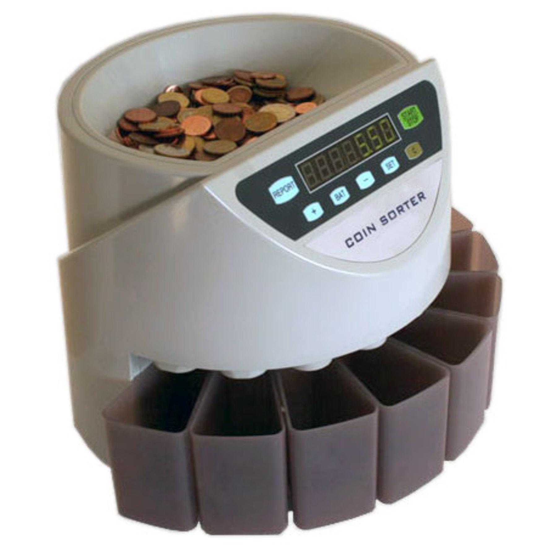 CS250 Coin Counter  amp  Sorter